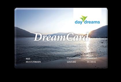 DreamCard: Jetzt daydreamer werden
